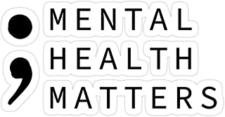 B. Strange Mall Mental Health Matters Stickers (3 Pcs/Pack)