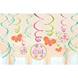 Amscan Tweet Baby Girl Swirl Value Pack Party Accessory