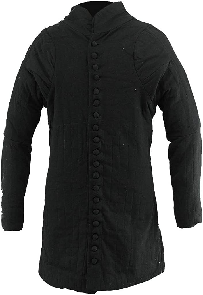 The Medieval Shop Gambeson Sales Spring new work one after another Thick Long Padded Coat Jacket Aketon
