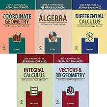 Arihant Mathematics Jee Main & Advanced (5 Book Set) Coordinate Geometry,vector & 3d Geometry,integral Calculas,algebra,di...