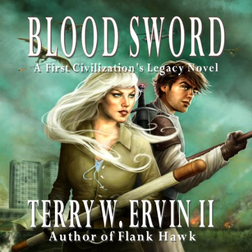 Blood Sword audiobook cover art