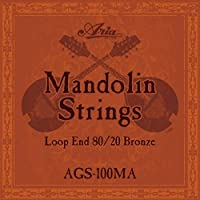 【6セット】ARIA アリア AGS-100MA [10-34] マンドリン弦
