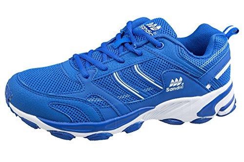 gibra® Herren Sportschuhe, sehr leicht und bequem, blau/weiß, Gr. 45