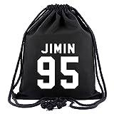 SIMYJOY BTS Fans Segeltuch Sporttaschen Bangtan Boys Gym Sack KPOP Jung Kook Rucksack Jimin Tasche V...