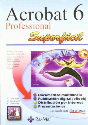 Adobe Acrobat 6 Professional Superfacil.