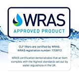 Clarifilter UKF7003 Cartucho de filtro de agua del frigorífico compatible con Maytag UKF7003; EDR7D1; Smeg FSRA 763410342; Beko AP930; Leisure APL13963B; Lamona HJA6100; NF1-650; SBSB1030; WF288 (1)
