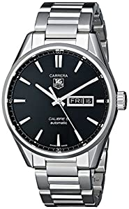 TAG Heuer Men's WAR201A.BA0723 Analog Display Automatic Self Wind Silver Watch image