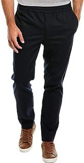 J.Lindeberg Men`s Casual Italian Wool Flannel Pant