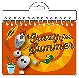 Disney Frozen Olaf Crazy for Summer Autograph Book