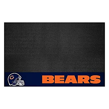 FANMATS NFL Chicago Bears Vinyl Grill Mat
