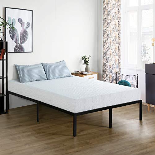PrimaSleep 9 Inch Folding Bed Mattress, Queen, White