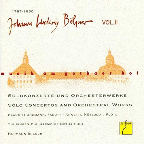 Thüringen Philharmonie Gotha, Hermann Breuer, Klaus Thunemann & Anette Nötzoldt