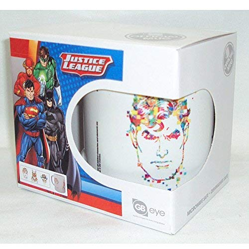 GB Eye, DC Comics, Ligue de Justice Simple, Mug