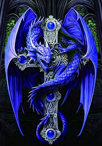 Purple Dragon on The Cross   Rompecabezas para niños Juegos de juguetes de bricolaje para adultos y niños de 500 piezas Juegos de juguetes clásicos
