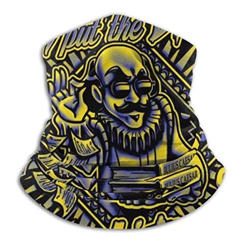 NA Sweatband,William Shakespeare Lit In Literatur Kopfwickel, Polyester Sport Face Shield Für Sport Athletic Gym,26x30cm