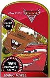 TV-24 Toalla mágica compatible con Disney Pixar Cars mágica, toalla mágica, toalla de lavado, 2