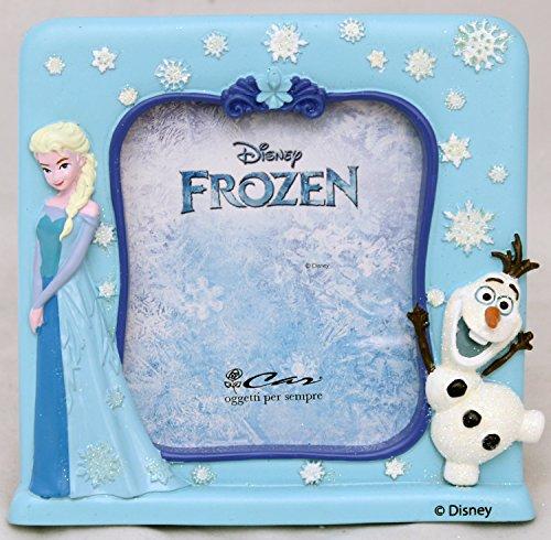 La Reine des Neiges Elsa et olaf Cadre photo en résine