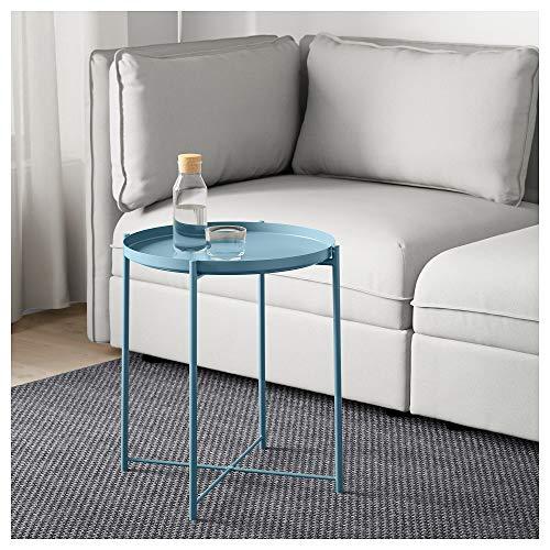 IKEA.. 304.119.91 Gladom Tabletttisch, Blau