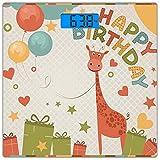 Escala digital de peso corporal de precisión Square Decoraciones de cumpleaños...