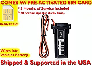 AES RGT901 GPS Tracker GPRS Mini Portable Vehicle Motorcycle Locating Tracking Device. PRE-ACTIVATED SIM CARD WITH 3 MONTHS SERVICE INCLUDED!!!