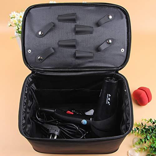 Beauty Barber Tool Bag Salon Salon de coiffure Salon de coiffure professionnel Boîte à outils de stockage,Noir,40x23x27cm