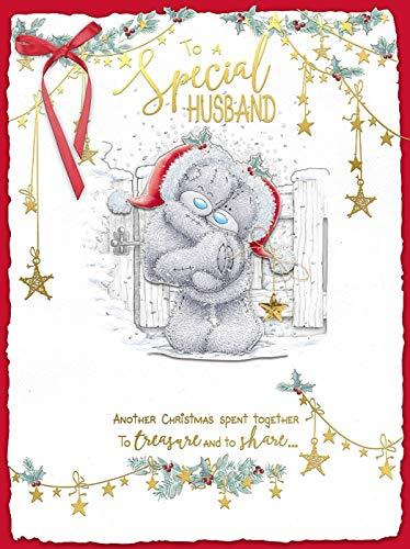 Cesto Me to You boxed Handmade extra large biglietto d' auguri di Natale speciale marito