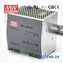 Meanwell DRT-240-24 Power Supply - 240W 24V 10A - 3-Phase Input