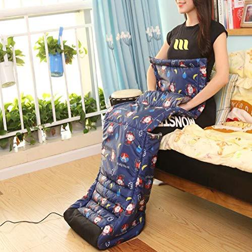 NADAENDR Elektrische ligverwarmingspad voor warme handen en voeten, oplaadbaar, warm, warm, warm, met USB-verwarming