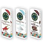 Tris Cioccolata di Modica I.G.P. 100 gr. al Peperoncino - al Sale e Fondente 70%
