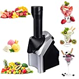 """FRUIT SOFT SERVE MACHINE: Easily create yummy vegan tasting treats by adding any combination of chocolate, or fruits like over-ripe bananas, berries, or mango to the chute for a smooth """"ice-cream"""" Like taste. FROZEN DESSERT MAKER: Use this frozen des..."""
