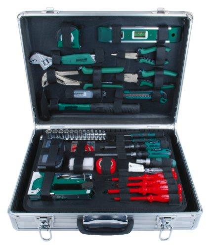 Mannesmann - M29071-75 piezas Juego de herramientas en maletín de aluminio