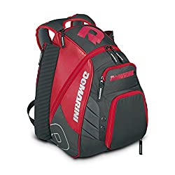 b2e8c22a290 The bizarrely named Voodoo Rebirth Backpack from DeMarini is a  serious-looking bag. Whatever color you choose – and there are plenty – the  heavy black ...
