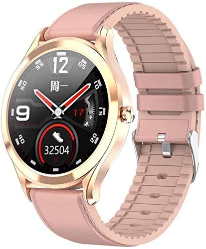 TYUI Reloj inteligente impermeable de 1,3 pulgadas, monitor de ritmo cardíaco y sueño para hombres y mujeres, análisis de ejercicio compatible con Android e Ios Phones-D