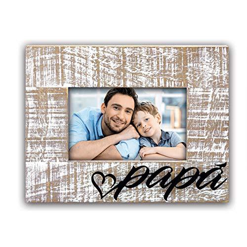 ZEP S.r.l. Edoardo Papa - Marco de Fotos (Madera, 10 x 15 cm), Color marrón