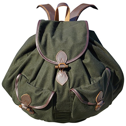 Chasse sans volume sac à dos sac de randonnée qualité lin imprégné jagdgrün 45 L