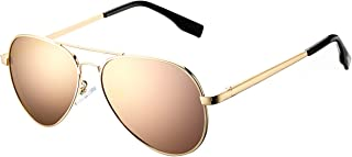 Kids Polarized Aviator Sunglasses for Boys Girls Age...