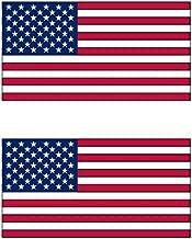 アメリカ 国旗 フェイス シール 2枚入り <水転写タイプ>  ( 国旗 ペイント タトゥー シール )