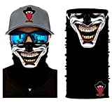 [ 44 Designs ] Bedrucktes Multifunktionstuch Bandana Halstuch Kopftuch: Face Shield aus Mikrofaser -...