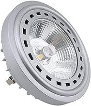 Bonlux 12V LED AR111 G53 Spot Light Bulb with Cree COB Chips 12W LED ES111 Reflector Light 75W Halogen Replacement Bulb for Commercial Residential Lighting (Warm White 2700K, 12V G53 Base)