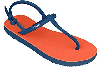 fipper Women's Rubber Thongs, Style: Strappy, UK 5 to 8 / US 6 to 9, Lengths 23.5cm to 27cm