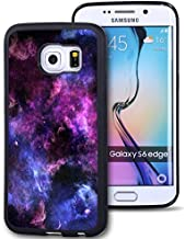 Galaxy S6 Edge Plus Case Personalized Design FTFCASE (TM) Samsung Galaxy S6 Edge+ (NOT For Galaxy S6 Edge) TPU Black Cell Phone Case Abstract purple sky