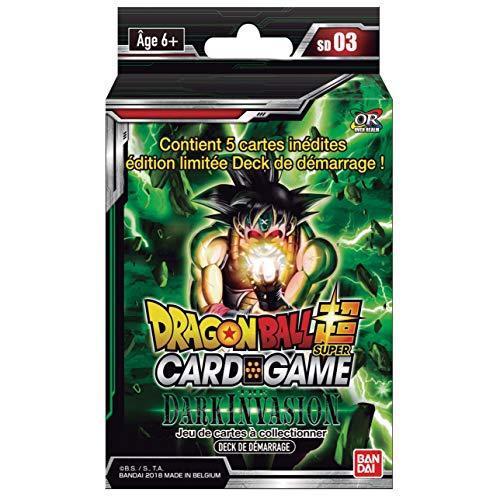 Dragon Ball Super - Deck de Démarrage - Série 03 - The Dark Invasion