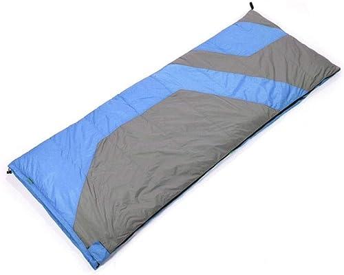 XSWZAQ Type d'enveloppe Hiver Adulte Doubleure rectangulaire Long Camping Sac de Couchage Portable