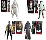 Star Wars The Force Awakens Set of 4 Different 6 Inch Action Figures