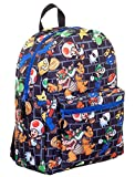Super Mario All-Over Comic Print 16 Backpack