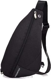 Mens Bag Men Women Travel Outdoors Chest Pack Crossbody Casual Lightweight Shoulder Bag for High capacity