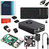 Vilros Raspberry Pi 4 2GB Complete Desktop Kit with Mini Keyboard and Touchpad Combo