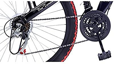 Hero RangerDTB 26T 6 Speed Mountain Bike (Red Black, Ideal For : 12+ Years )