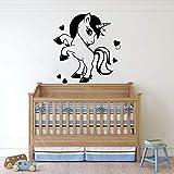 Tianpengyuanshuai Vivero Vinilo Pared calcomanía habitación de los niños de Dibujos Animados Etiqueta de la Pared decoración del hogar 30X32cm