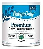 Image du seul produit laitier biologique pour bébé